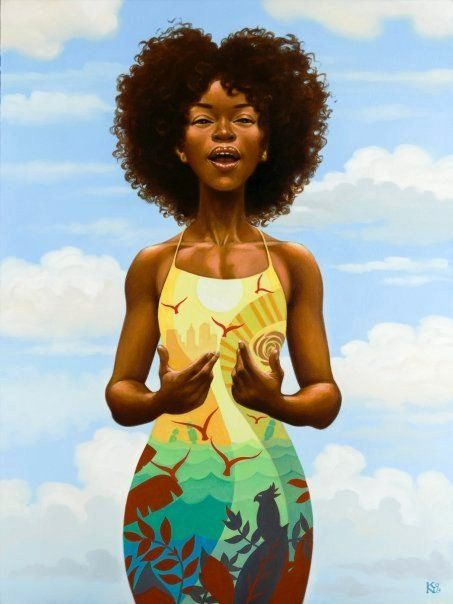 by Kadir Nelson....an empowered woman is the most beautiful mother anyone can be blessed with by God :)