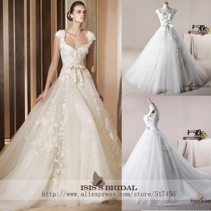 163 best wedding images on pinterest cheap dresses for Expensive plus size wedding dresses