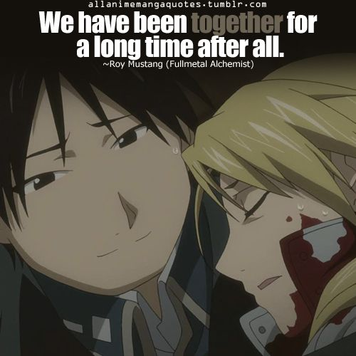 Its Been A Long Time Quotes: 17 Best Images About Fullmetal Alchemist/FMA/Brotherhood
