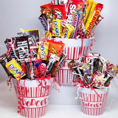Movie Night Bouquet With Drinks: Candy Bouquets Who Wouldn T Love To
