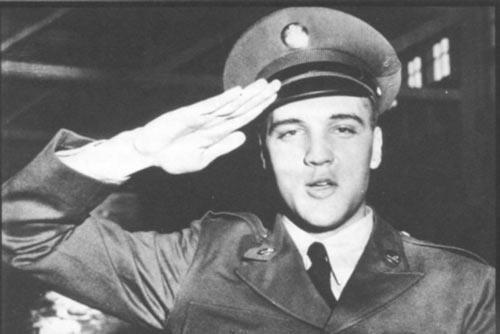 Elvis Presley no exército.