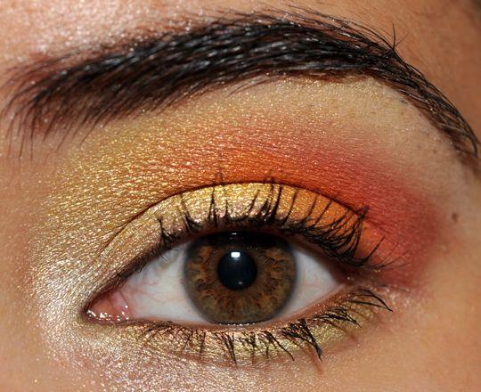 Yellow, Orange, Coral with MAC Big Bounce & Fashion Flower