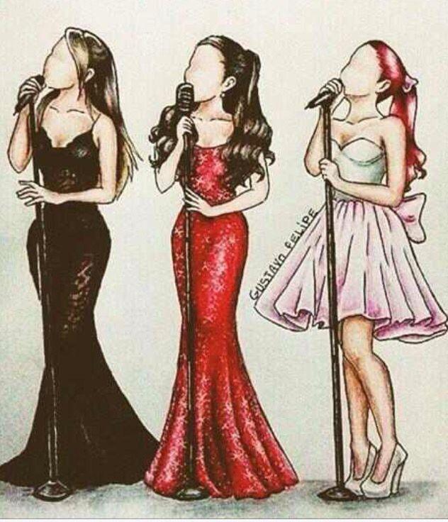 I don't like Ariana grande but as you can tell I'm a fan of art!