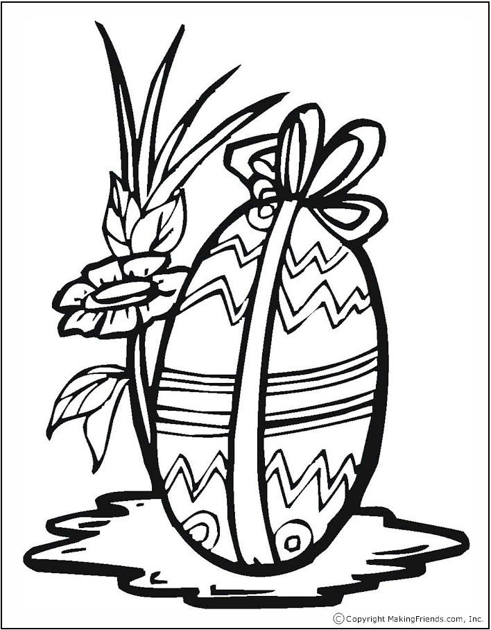 Easter Flowers Colouring Pages : 85 best images about easter coloring pages on pinterest