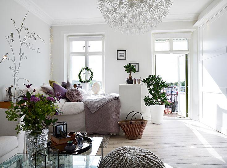 a cozy studio apartment.