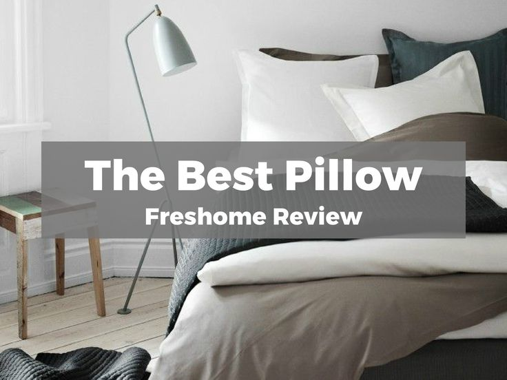 The Best Bed Pillow: Sleep Soundly on Freshome's Top Pick - http://freshome.com/best-bed-pillow/