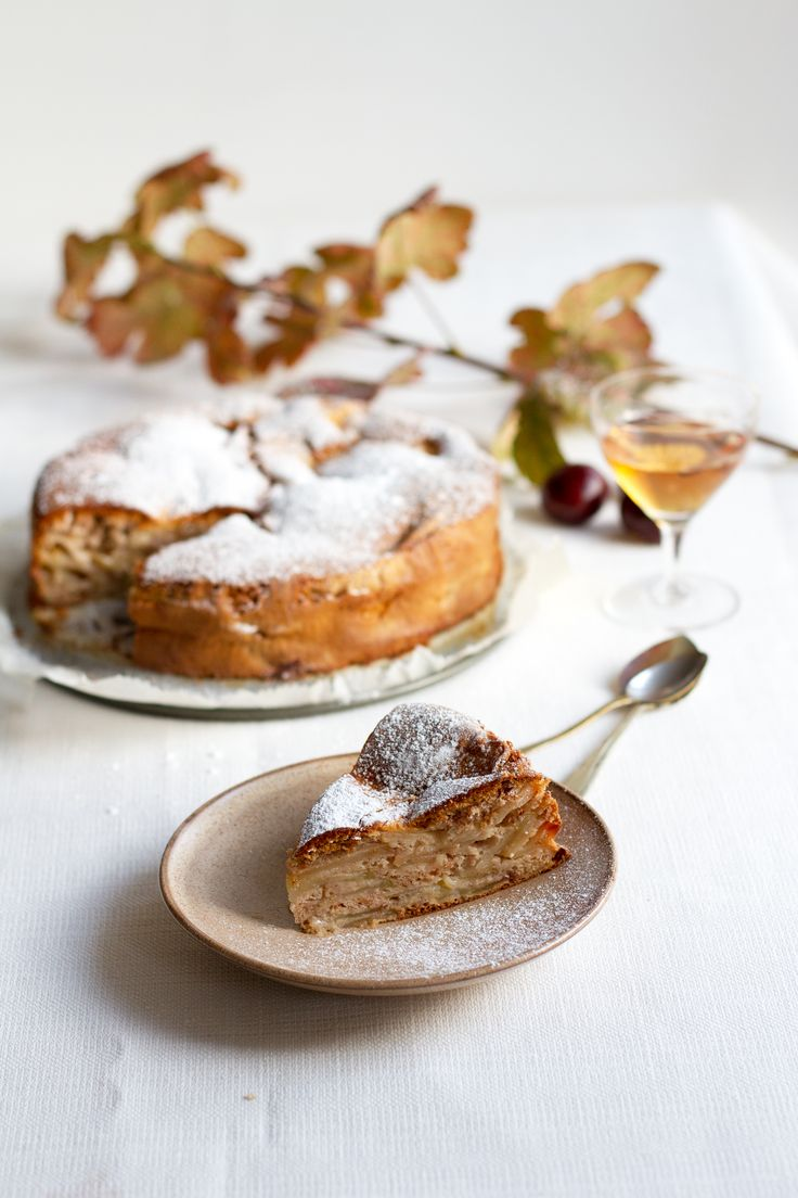 Glutenfree and vegan option Sharlotka. A Russian Apple Cake, recipe and photos by Food Bandits