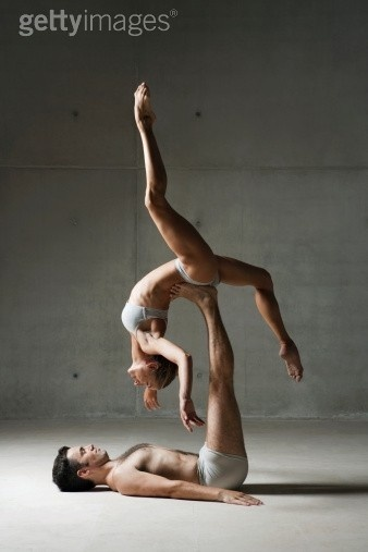 Inversion Dance partner. Love the male and female aspect of this shot. Elevate_fire_dance