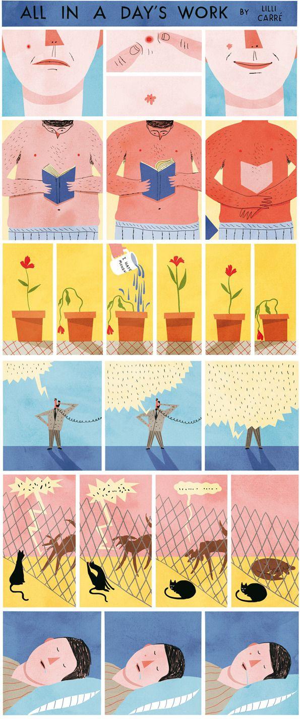 Lilli-carre #sequential illustration