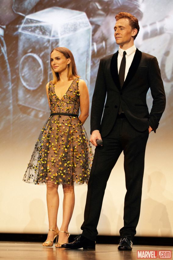 can we just take a second to recognize how tall tom is? i mean, natalie is wearing heels and he still towers over her. be still my beating heart!