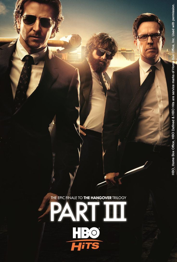 """The Hangover Part III is an produced by Legendary Pictures is the sequel to The Hangover (2009) & The Hangover Part II (2011), and the third and final film in The Hangover trilogy.  The film follows the """"Wolfpack"""" (Phil, Stu, Doug, and Alan) as they try to help Alan stuck due to a personal crisis by embarking on a road trip to the place it all began: Las Vegas. However, things go terrible when an incident from the original film comes back to haunt them!"""