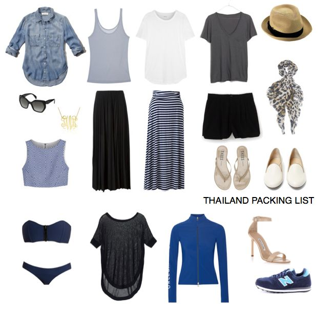 Packing List: 2 Weeks in Thailand - feathers and stripes