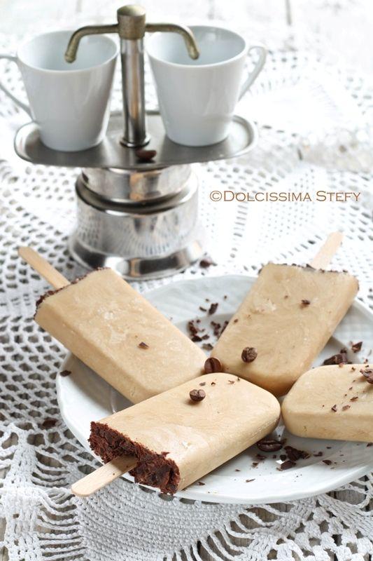 Ghiaccioli al Caffè - le ricette leggere di Dolcissima Stefy