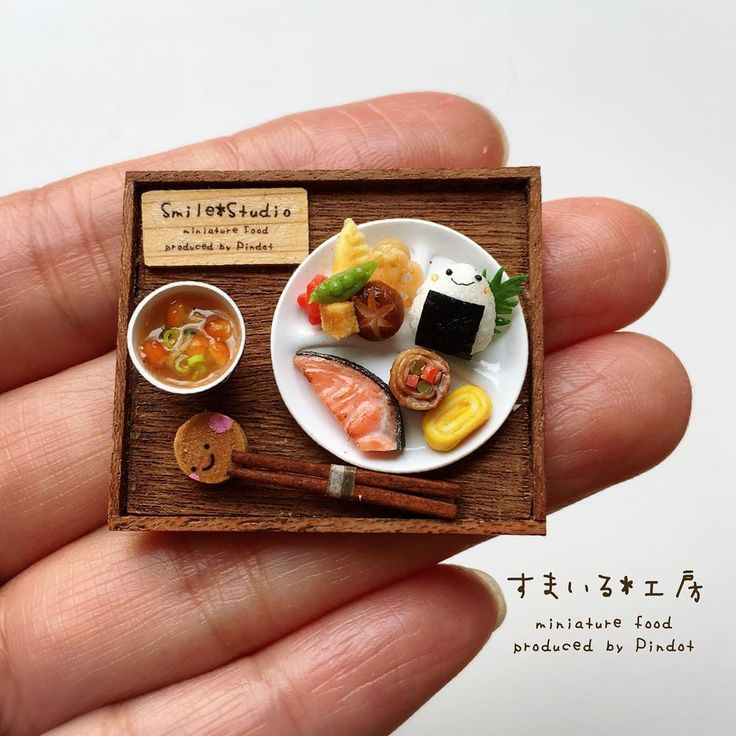 2017, Miniature food♡ ♡  by Smile Pindot