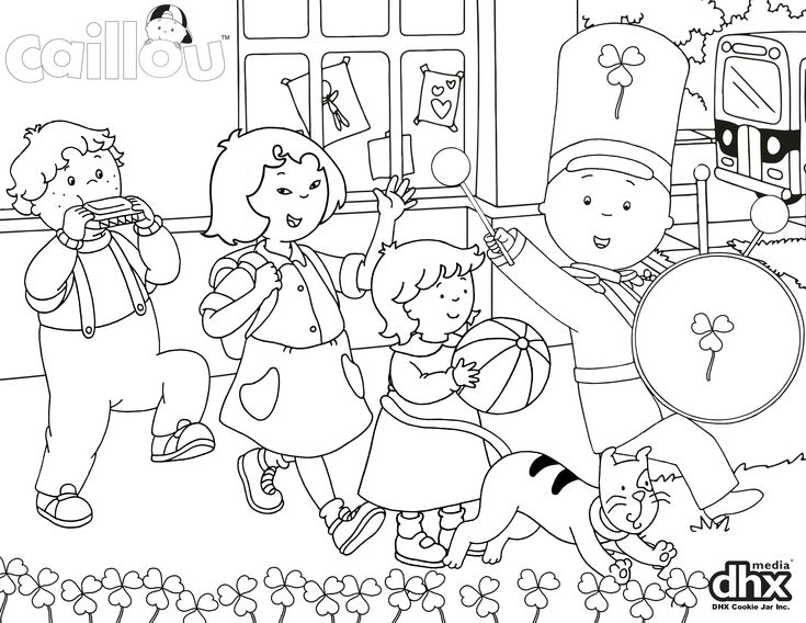 parade coloring pages - photo#1