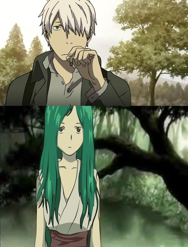 Mushishi Vectors by kukurah on deviantART Awesome anime
