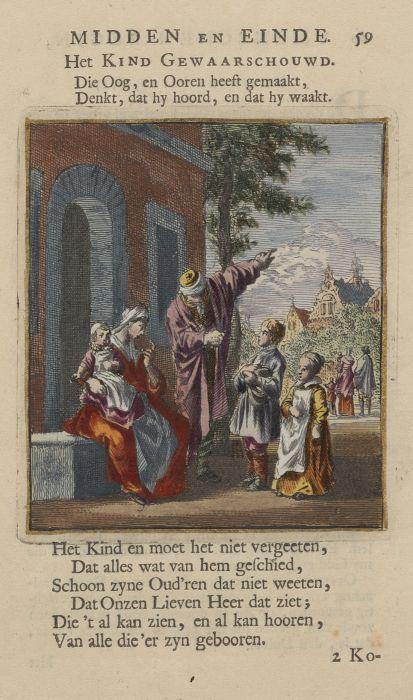 Des menschen begin, midden en einde.1712.