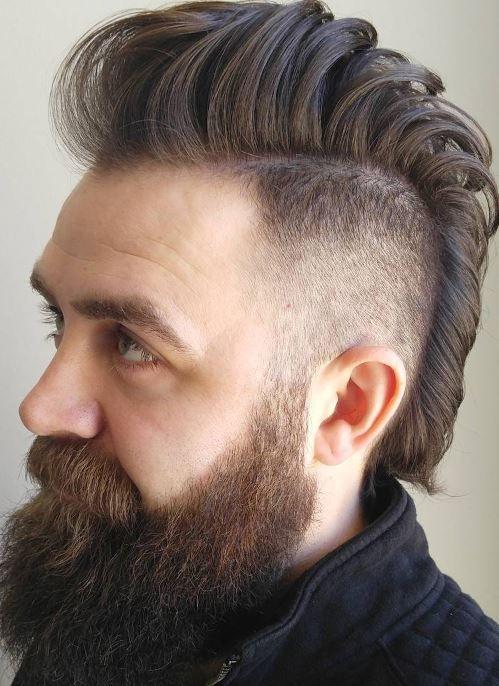 Kiểu Toc Nam đẹp Mohawk Fade Modern Mohawk Haircut Kiểu Toc Nam