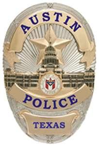 Austin Texas police badge