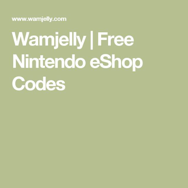 Wamjelly | Free Nintendo eShop Codes