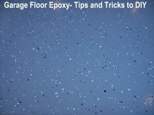 DIY:  How to Give your Garage Floor a Facelift - awesome tutorial that lists the tips and tricks you should know BEFORE you epoxy your floor!  Great way to transform your garage or basement - via Sunlit Spaces