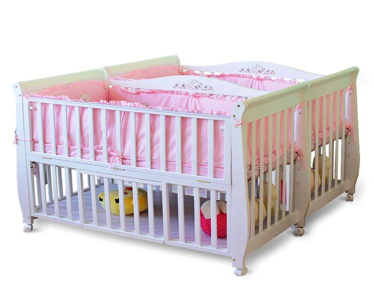 Twin Cribs Complex | Twin cribs, Baby cribs for twins, Cribs