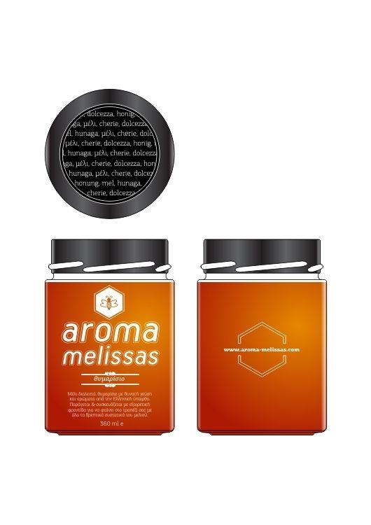 Honey Package Design by Pavlos Katsigiorgis, via Behance
