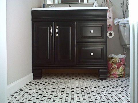 Bathroom Vanity Black best 25+ vintage bathroom vanities ideas on pinterest | singer
