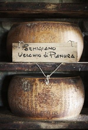 Parmigiano {my dad's handwriting looks EXACTLY like this. Must be an Italian thing....}