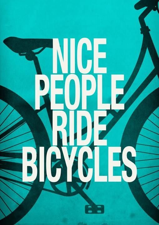 Nice people ride bycicle! #bike #bycicle #style