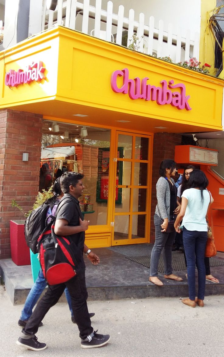 Who doesn't love all the funky stuff in Chumbak? Great Delhi souvenirs, from mugs to watches to apparel and home decor stuff. https://www.chumbak.com/ At Hauz Khas Village, Meherchand Market and in DLF CyberHub Gurgaon.