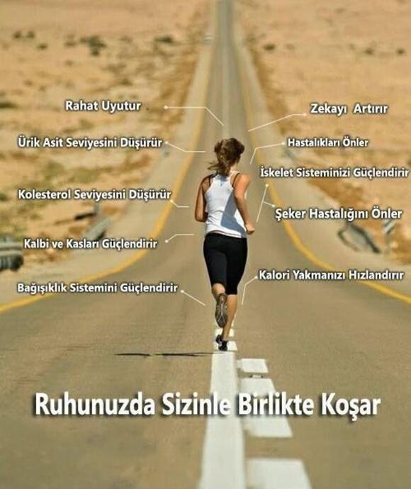 koşunun vücuda etkileri