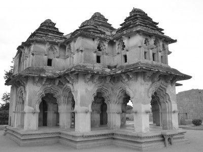Lotus Palace, Hampi, Karnataka, India #india #Kamalan #culture #travel #photo