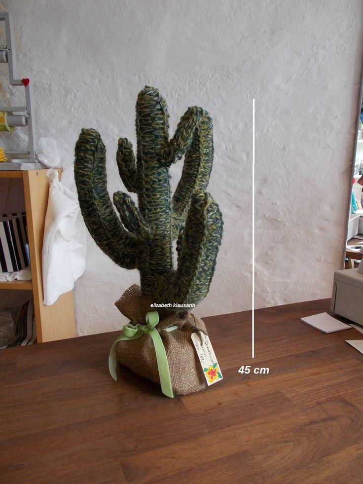 strikket kaktus