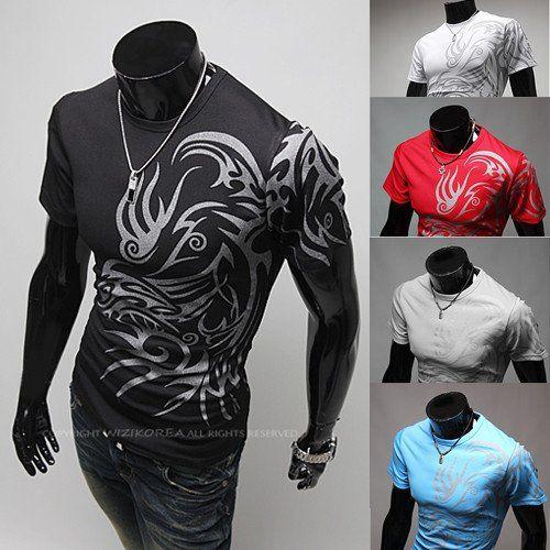 Men's Slim Fit Stylish Short-Sleeve Breathable TShirt