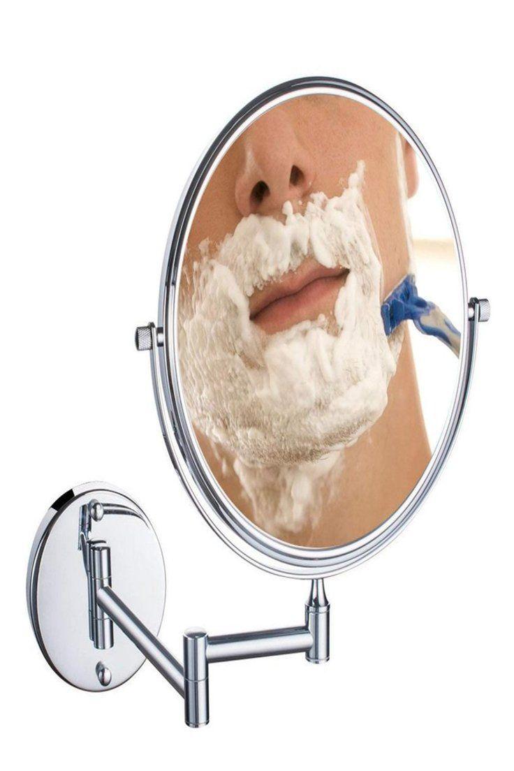 36 98 Gbp Uniquebella 10x Bathroom Vanity Magnifying Mirror Makeup Round Wall Mounted Uniquebella Bathroom Vanity Magnifying Mirror Make Badkamer