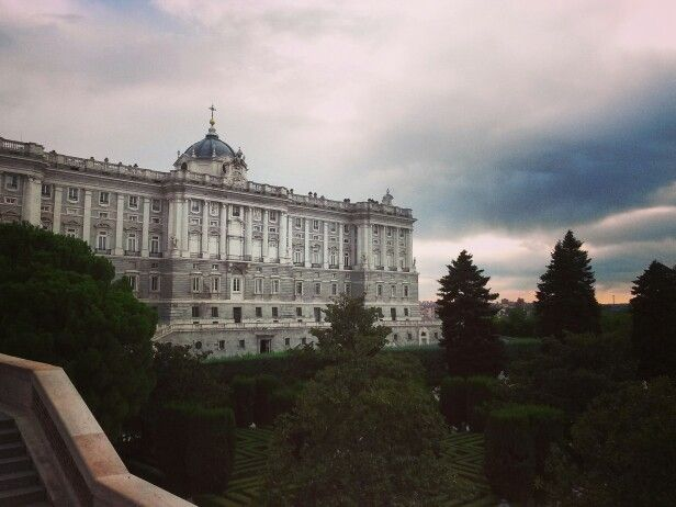 Real Palacio, Madrid #Spain #Madrid #palace #travel