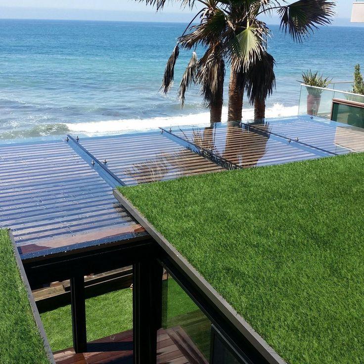 Custom canopy Photo 4 of The Surfer's Dream modern home
