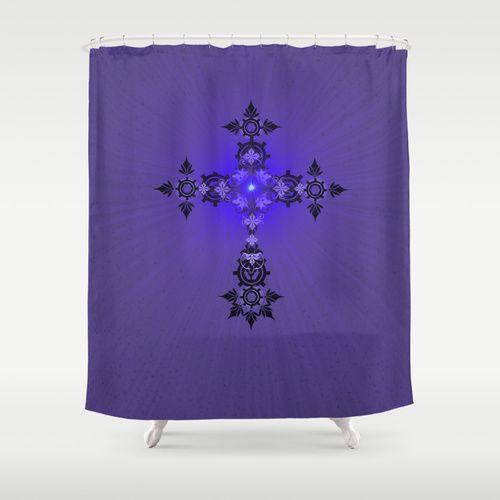 Add Maiorem Dei Gloriam Shower Curtain