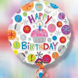"""""""Happy Birthday Mini Cupcake Bouquet"""""""