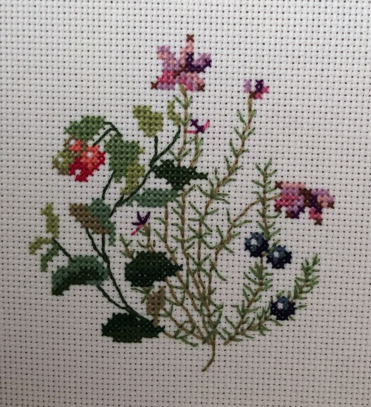 Designed by Eva Rosenstand                     Cross stitched by Teresa