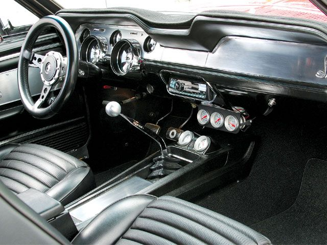 1967 Ford Mustang Shelby GT500, interior