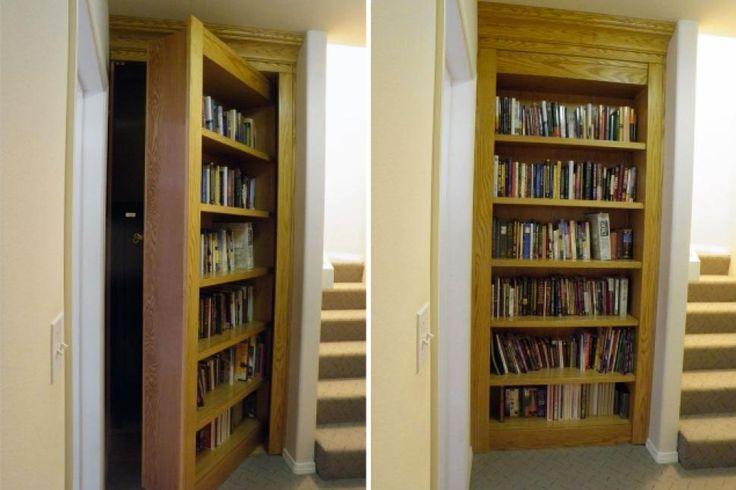 Porte De Bibliothèque Cachée sur Pinterest  Portes Cachées, Porte ...