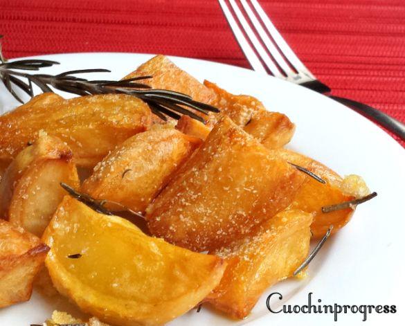 patate al forno il trucchetto per renderle croccantissime