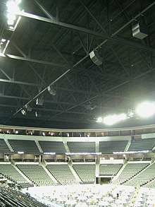 K-13 spray on insulation - Sears Center Arena