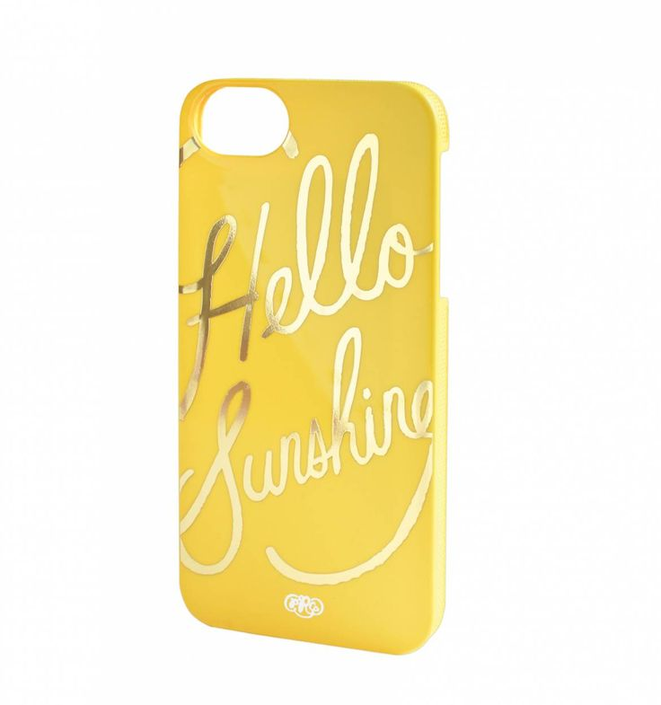 Rifle Paper Co. - Hello Sunshine - Hard Shell Iphone Case