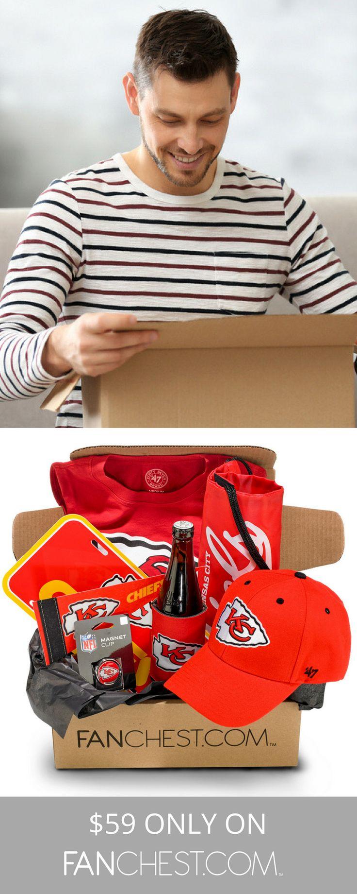 Kansas Chiefs Gear + Apparel + Merchandise - Perfect Gift Chiefs Fans