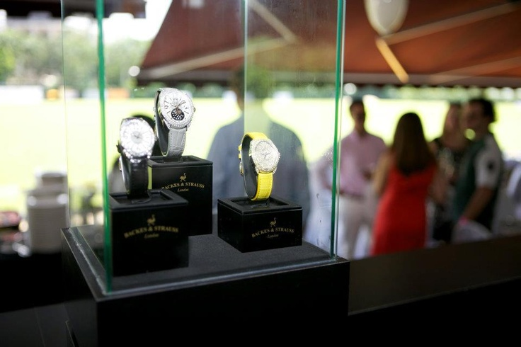 The Regent Fancy canary - the perfect Backes & Strauss watch for the discerning people of the Singapore Polo day - Discover more on www.backesandstrauss.com