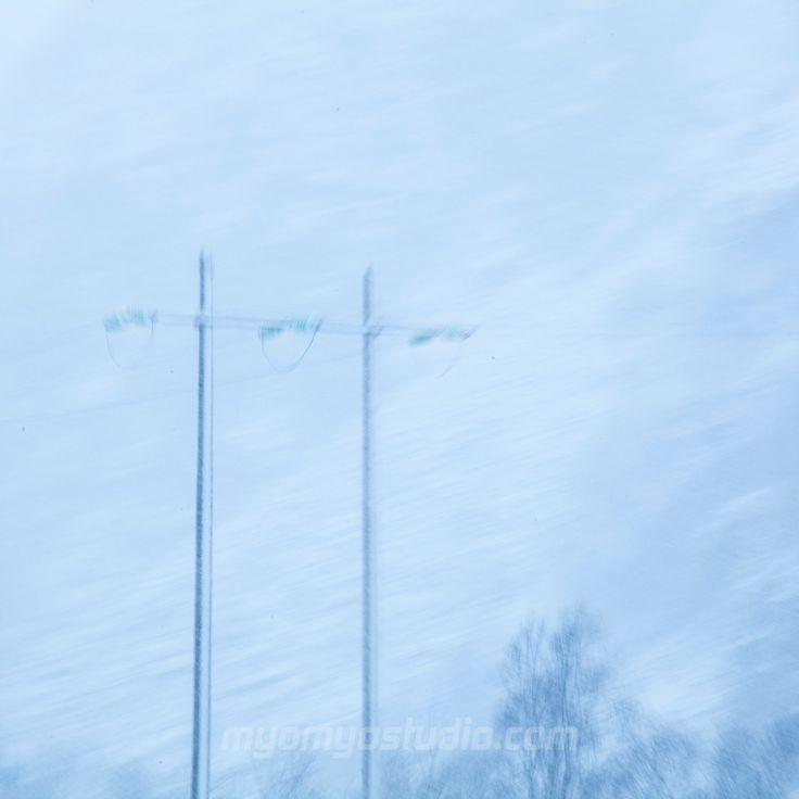#winter #snow #mood #light #blue #norway #sirdal #bokeh #blur #impression