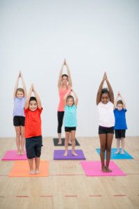 Kids yoga program